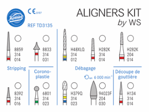 Coffret Aligners Kit by WS